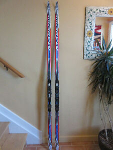Madshus Terrasonic Classic Skis, bindings and boots For Sale
