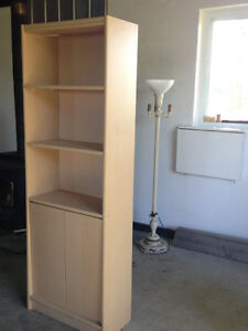 Bookcase & Shelving - Like New Condition (Paid $218)