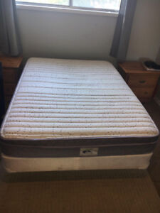 FULL MATTRESS, BOX SPRING AND BED FRAME