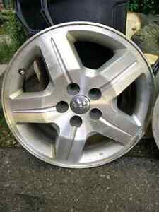 "17"" by 7 1/2"" Rims 5 star pattern Cambridge Kitchener Area image 1"