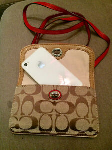 Authentic Coach smartphone purse with gift box Edmonton Edmonton Area image 2