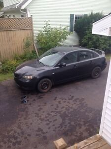 2005 Mazda 3 for parts