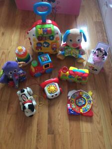 Lot de jouets pour bébé 6 mois et plus