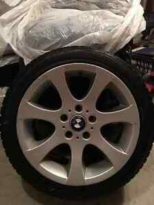 BMW Runflat Winter Tires on RIMS