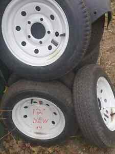 "12"" New trailer tires"