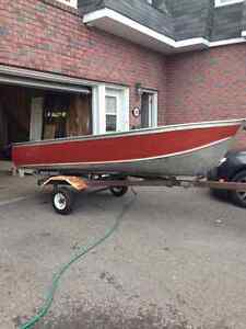 12ft. GameFisher Boat, trailer & motor