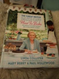 British Bake Off how to bake book