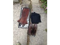 Jodhpur boots, Toggi size 4
