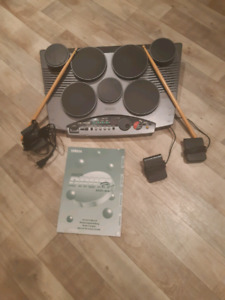 Drum electronic 7 pads