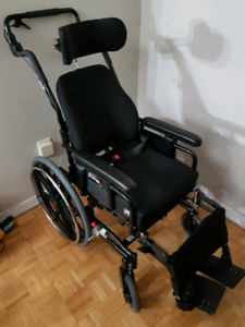 Maple Leaf SUPERTILT Manual Wheel Chair , almost new condition.