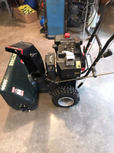"Craftmans 24"" cut snowblower (Briggs &Stratton motor)"