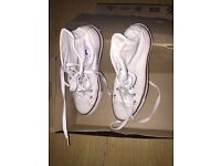 Worn once size 3 converse