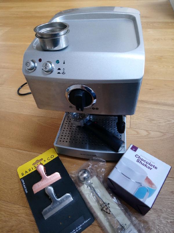 Andrew James Barista Espresso Coffee Machine Free Accessories In Staple Hill Bristol Gumtree