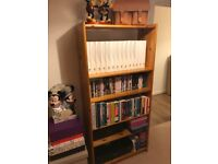 Tall pine book shelf