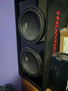 Subs, amp and deck