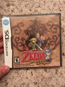 SEALED -Zelda Phantom Hourglass for Nintendo Ds