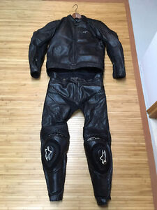 AlpineStars Racing Leathers for Sale or Trade. 44 jacket/36 pant