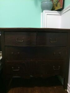Antique Dove Tail Built Dresser Peterborough Peterborough Area image 1