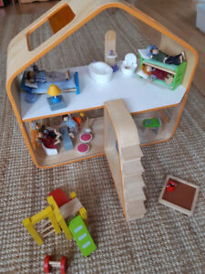 For Sale: Plan Toys Wooden Dollhouse