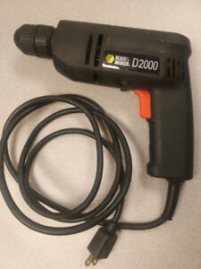 Black and Decker D2000 Corded Drill 120V 60HZ