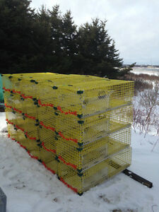 LOBSTER TRAPS  20 4Ft Offset Wire
