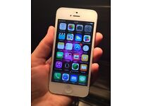 iPhone 5 16GB Silver Excellent Condition