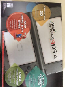 3DS XL with 3 games