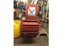 Tool box and top Cuboard