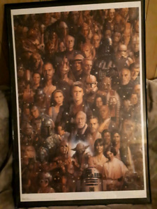 Star Wars Collectable Print