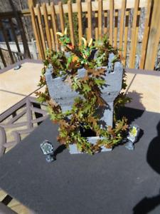 D&D TableTop RPG Terrain - Vine Covered Tower