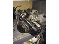 Mini moto engine refurbished