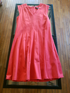 MICHEL STUDIO SIZE X Coral dress