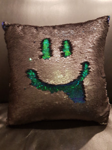 2 pack NEW Reversible Sequin Pillow Cases - decorative & fun!