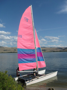 18' Prindle Catamaran Sailboat for Sale