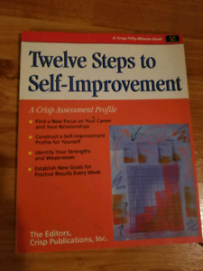 12 steps to self improvement book