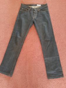 Gustin straight -fit Raw denim jeans Reservoir Darebin Area Preview