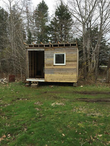 **NEWLY BUILT SHED**