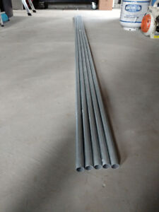 3/4 Inch Metal Electrical Conduit 10 ft. Lengths x 5 Brand New