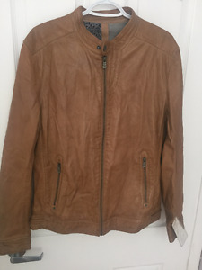 Mauritius- Original Leather Men Jacket- NEW