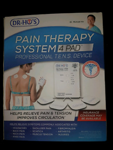 Dr. Ho Pain Therapy System 10 pads NEW