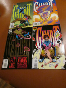 Lot of four GAMBIT comics