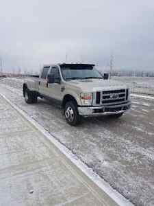 2008 FORD F-350 DIESEL LARIAT DUALLY SUPER CREW CAB - OBO