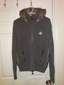 Moncler Down Knit Padded Jacket Size M