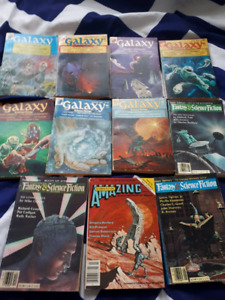 Galaxy Digests Pulp Science Fiction 1977