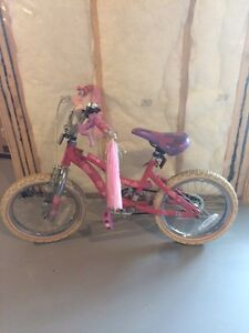 Barbie bicycle in great condition