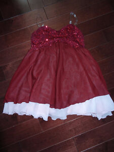 Dance costumes for ages approx 6-12 yrs of age