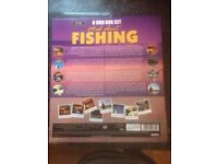 Mad about fishing 8 DVD box set *new*