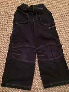 2 Pairs of Cute Boys Pants - Size 4 and 5