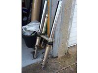 Gsxr600 forks and yolk k1 k2 k3 £120 flat tracker, custom chop, Streetfighter