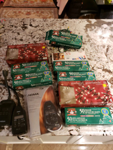 Selling brand new christmas lights,indoor and programmable